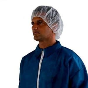 Hair net for sterile lab work