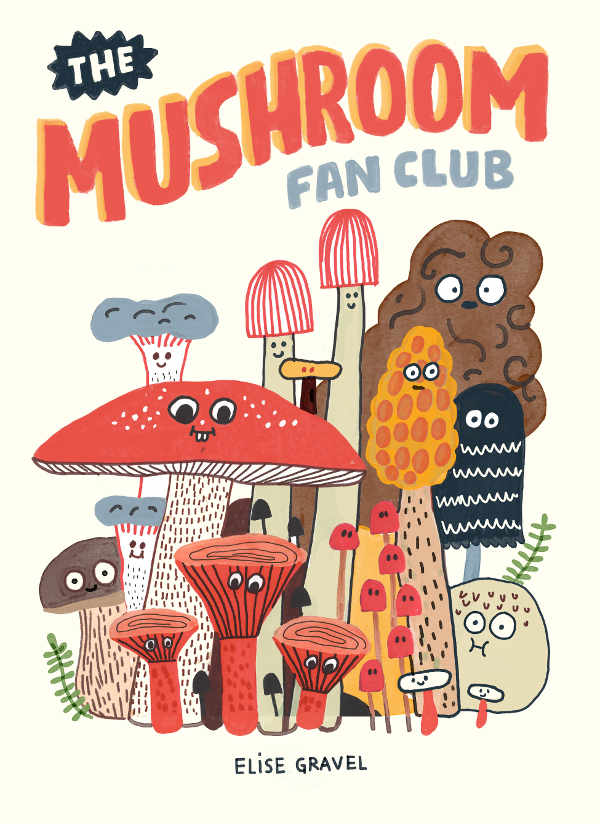 The Mushroom Fan Club children's book Canada